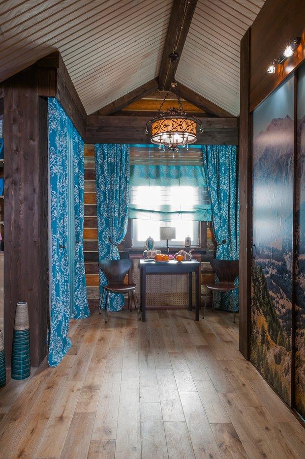 Фотография: Кухня и столовая в стиле Прованс и Кантри, Спальня, Интерьер комнат, Мансарда – фото на INMYROOM