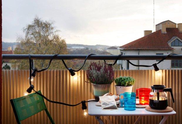 Фотография: Балкон, Терраса в стиле Лофт, Современный, Скандинавский, Декор интерьера, Квартира, Дома и квартиры – фото на INMYROOM