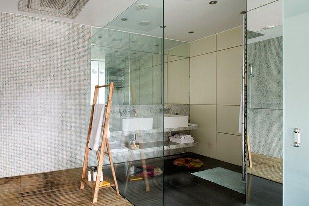 Фотография: Ванная в стиле Современный, Квартира, Дома и квартиры, Лондон, Панорамные окна – фото на INMYROOM