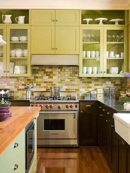 Фотография: Гостиная в стиле Прованс и Кантри, Кухня и столовая, Декор интерьера, Интерьер комнат, Плитка – фото на INMYROOM