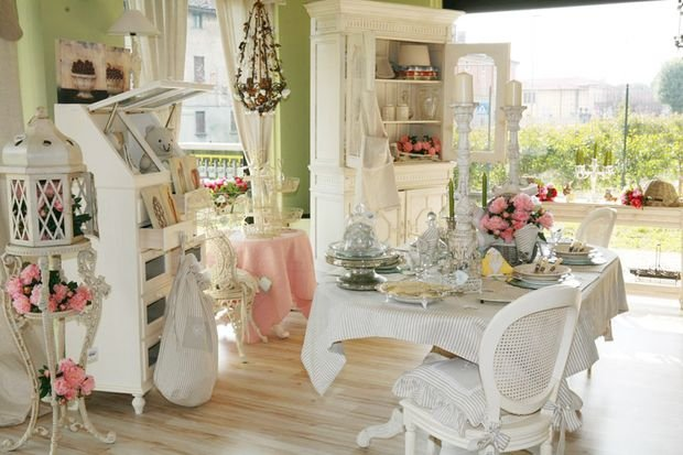 Фотография: Кухня и столовая в стиле Прованс и Кантри, Декор интерьера, Квартира, Дом, Декор, Шебби-шик – фото на INMYROOM