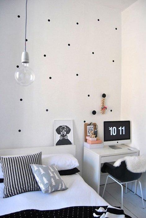 Фотография: Спальня в стиле Скандинавский, Современный, Декор интерьера, DIY – фото на InMyRoom.ru