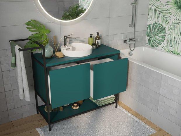 Фотография:  в стиле , Ванная, Советы, Cersanit, мебель для ванной, подвесная мебель для ванной – фото на INMYROOM