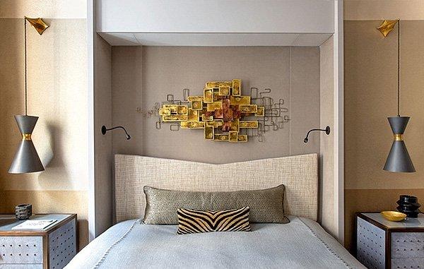 Фотография: Спальня в стиле Современный, Малогабаритная квартира, Квартира, Франция, Дома и квартиры, Париж – фото на INMYROOM