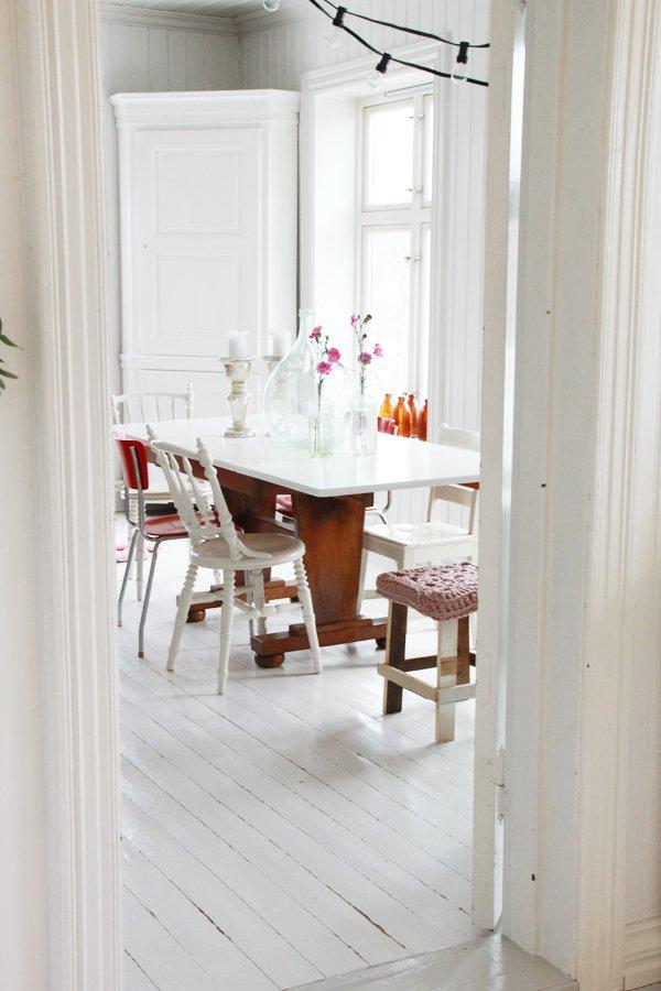 Фотография: Кухня и столовая в стиле Скандинавский, Стиль жизни, Советы, Стол – фото на INMYROOM