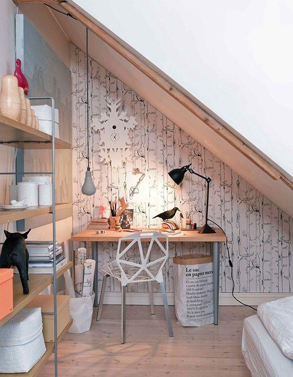 Фотография: Офис в стиле Современный, Малогабаритная квартира, Квартира, Дома и квартиры – фото на InMyRoom.ru