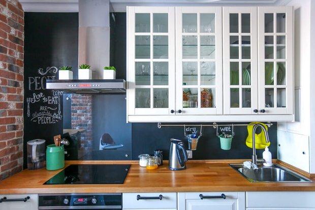 Фотография: Кухня и столовая в стиле Лофт, Скандинавский, Советы, Мила Колпакова – фото на INMYROOM