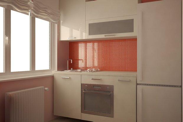Фотография: Кухня и столовая в стиле , Современный, Малогабаритная квартира, Квартира, Дома и квартиры – фото на INMYROOM