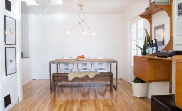 Фотография: Гостиная в стиле Лофт, DIY, Дом, Дома и квартиры, Камин – фото на INMYROOM