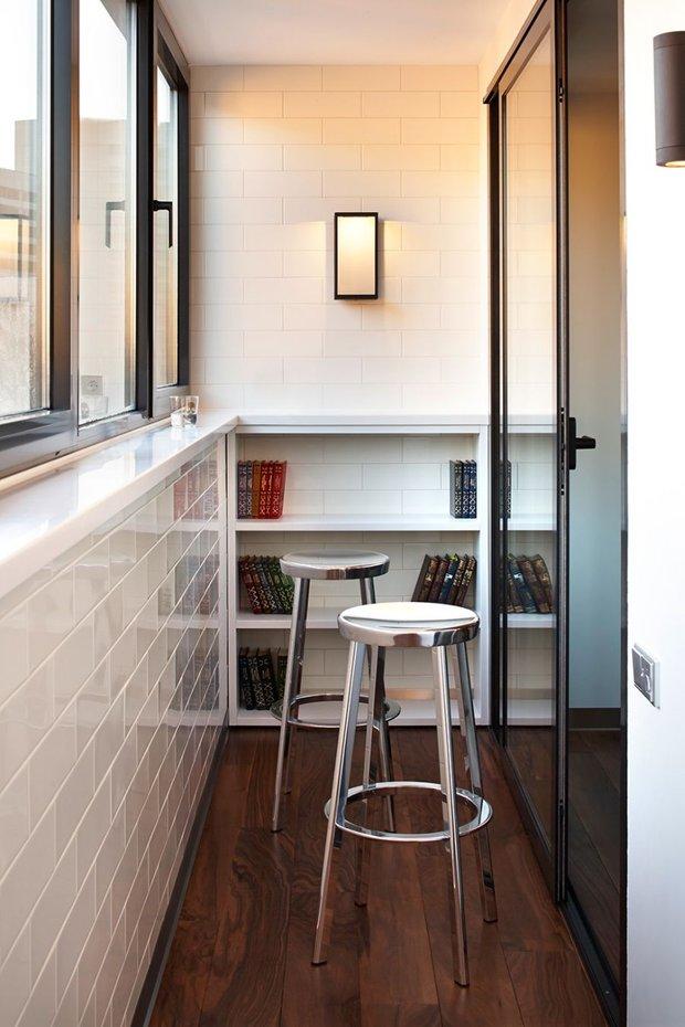 Фотография: Балкон в стиле Современный, Квартира, Советы, Ремонт на практике, как сделать косметический ремонт балкона, ремонт балкона – фото на INMYROOM
