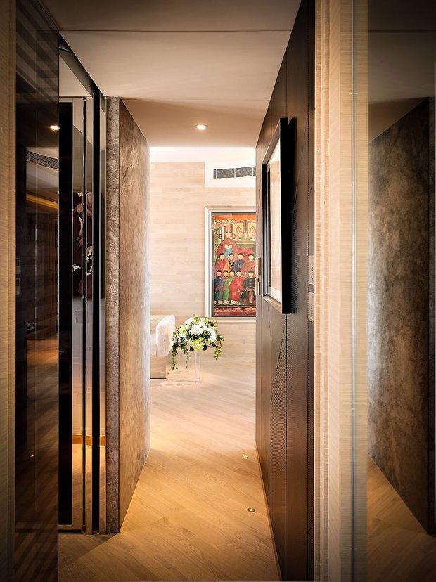 Фотография:  в стиле Современный, Малогабаритная квартира, Квартира, Дома и квартиры, Квартиры – фото на INMYROOM
