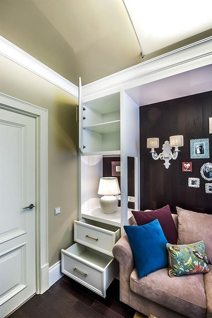 Фотография: Спальня в стиле Прованс и Кантри, Гостиная, Декор интерьера, Интерьер комнат – фото на InMyRoom.ru