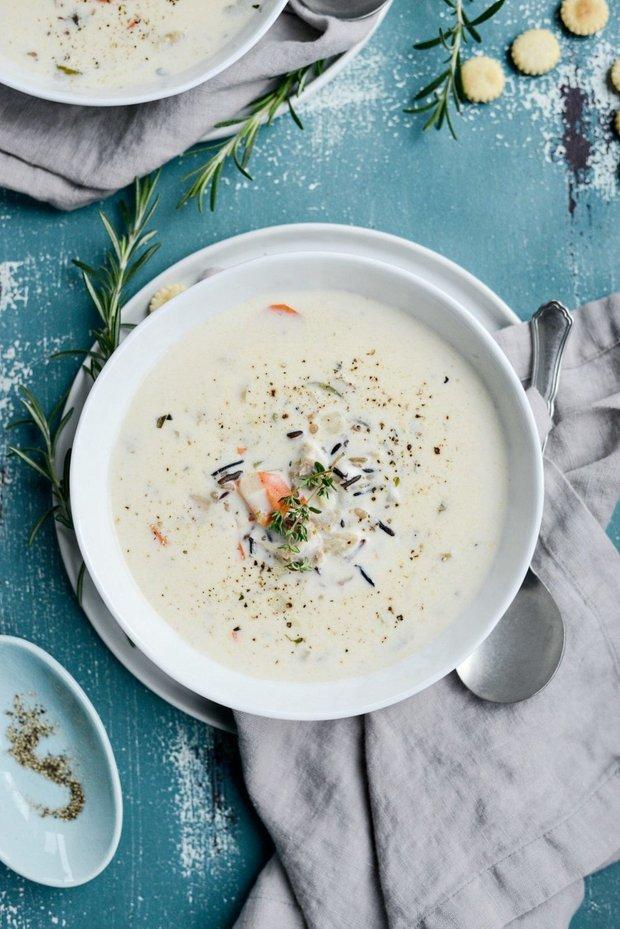 Фотография:  в стиле , Обед, Первое блюдо, Здоровое питание, Суп, Птица, Кулинарные рецепты, Варить, 30 минут, Просто, Индейка, Турецкая кухня, Дикий рис – фото на INMYROOM