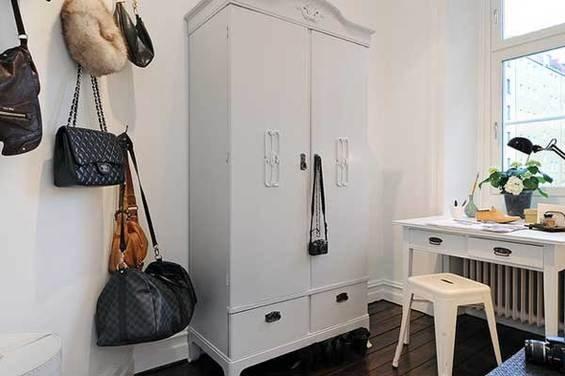 Фотография: Спальня в стиле Скандинавский, Квартира, Швеция, Мебель и свет, Дома и квартиры, Гетеборг – фото на INMYROOM