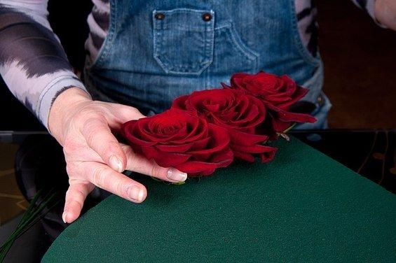Фотография: Спальня в стиле Прованс и Кантри, DIY, Флористика, Праздник, Стиль жизни, День святого Валентина – фото на InMyRoom.ru
