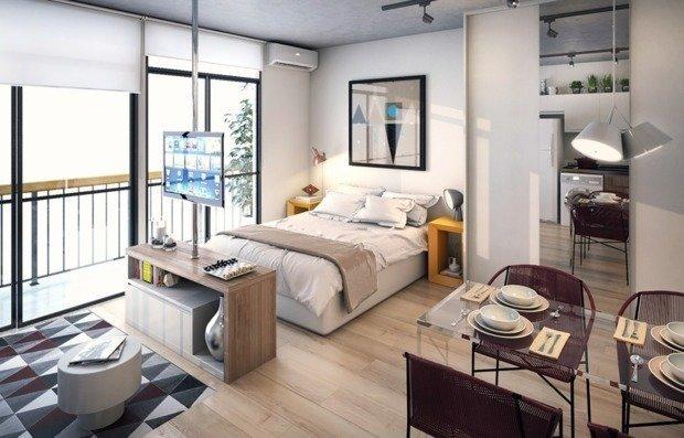 Фотография: Спальня в стиле Современный, Гид – фото на INMYROOM
