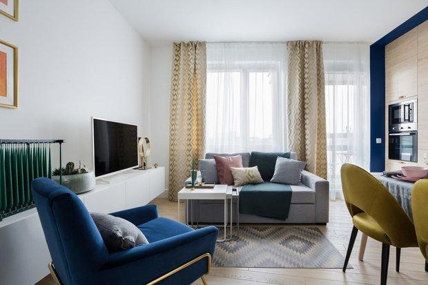 Фотография: Гостиная в стиле Современный, Гид, маленькая гостиная – фото на INMYROOM