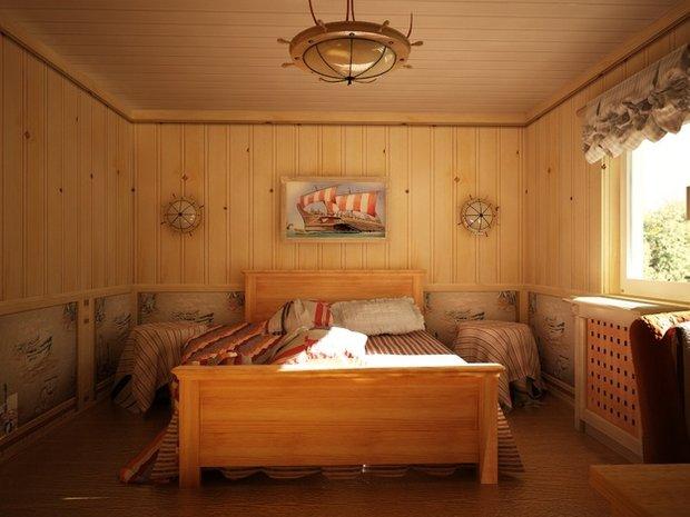 Фотография: Спальня в стиле Прованс и Кантри, Современный, Дом, Дома и квартиры – фото на INMYROOM