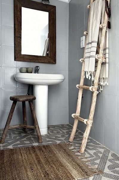 Фотография: Ванная в стиле Скандинавский, Декор интерьера, Дом, Хранение, Декор, Декор дома – фото на INMYROOM