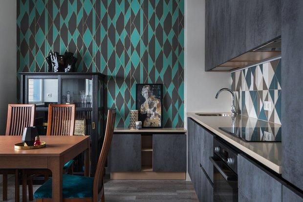 Фотография:  в стиле , Кухня и столовая, Советы, Кухонный фартук, как оформить кухонный фартук – фото на INMYROOM