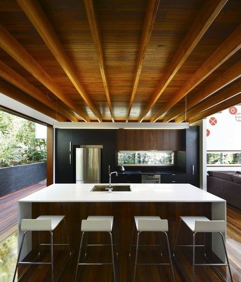 Фотография: Кухня и столовая в стиле Современный, Эко, Декор интерьера, Мебель и свет – фото на INMYROOM