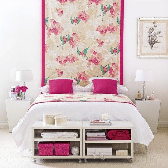 Фотография: Спальня в стиле Прованс и Кантри, Восточный, Декор интерьера, DIY, Обои – фото на INMYROOM