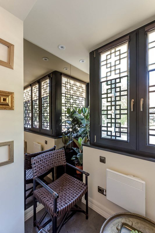 Фотография:  в стиле Современный, Восточный, Спальня, Декор интерьера, Интерьер комнат, Баухауз – фото на INMYROOM