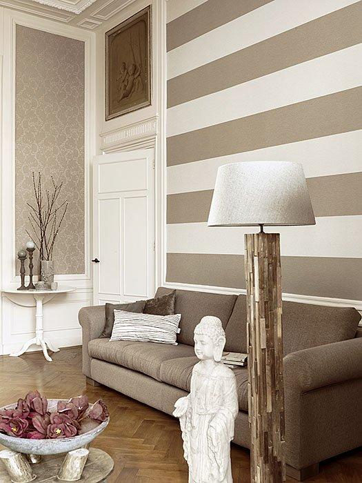 Фотография: Гостиная в стиле Прованс и Кантри, Декор интерьера, Декор дома, Обои – фото на INMYROOM