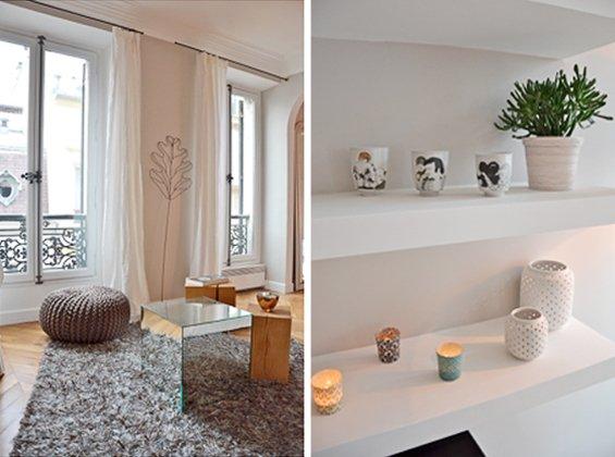 Фотография: Кухня и столовая в стиле Современный, Классический, Малогабаритная квартира, Квартира, Дома и квартиры, Париж – фото на INMYROOM