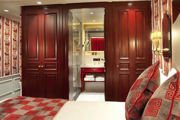 Фотография: Спальня в стиле Современный, Франция, Дома и квартиры, Городские места, Отель – фото на INMYROOM