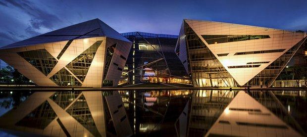 Фотография: Архитектура в стиле Современный, Офисное пространство, Офис, Дома и квартиры – фото на InMyRoom.ru