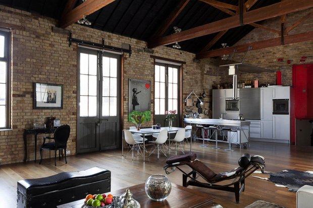 Фотография: Кухня и столовая в стиле Лофт, Классический, Современный, Эклектика, Декор интерьера, Мебель и свет, Советы, Минимализм – фото на INMYROOM