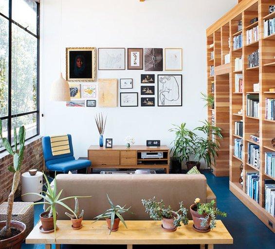 Фотография: Кабинет в стиле Лофт, Эко, Дом, Дома и квартиры, Калифорния – фото на INMYROOM