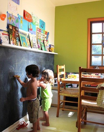 Фотография: Гостиная в стиле Прованс и Кантри, Детская, Интерьер комнат – фото на InMyRoom.ru