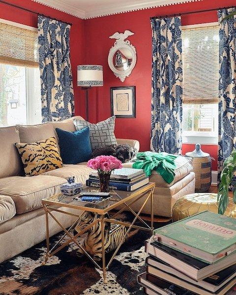 Фотография: Гостиная в стиле Эклектика, Декор интерьера, Декор дома, Плетеная мебель – фото на INMYROOM