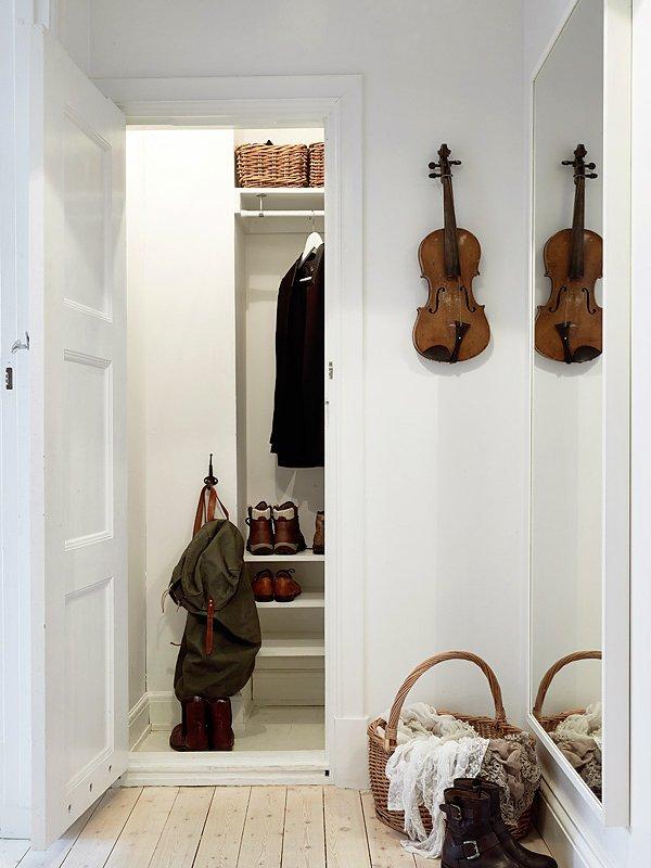 Фотография: Прихожая в стиле Скандинавский, Современный, Декор интерьера, Квартира, Дома и квартиры, Прованс, Шебби-шик – фото на INMYROOM