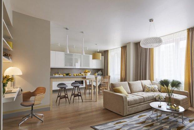 Дизайн: Bon Home Design