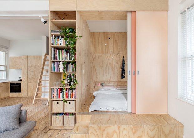 Фотография: Спальня в стиле Эко, Советы, квартира в Мельбурне – фото на INMYROOM