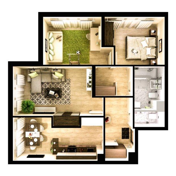 Фотография: Планировки в стиле , Советы, Перепланировка, 3 комнаты, 4 и больше, МИЦ – фото на InMyRoom.ru