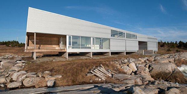 Фотография: Архитектура в стиле , Дом, Ландшафт, Минимализм, Эко – фото на INMYROOM