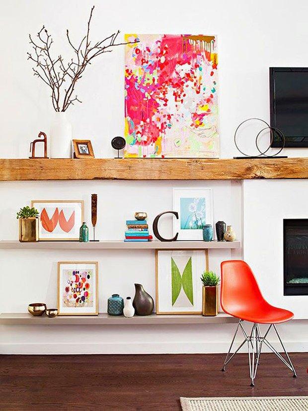 Фотография: Декор в стиле Лофт, Малогабаритная квартира, Интерьер комнат – фото на INMYROOM