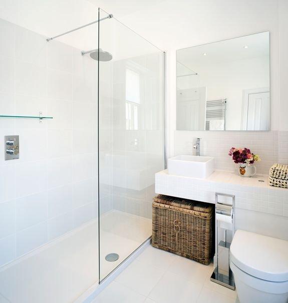 Фотография: Прочее в стиле , Ванная, Интерьер комнат, Мебель и свет, Цвет в интерьере – фото на INMYROOM
