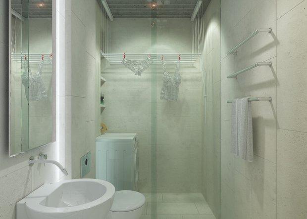 Фотография: Ванная в стиле Лофт, Скандинавский, Квартира, Дома и квартиры, IKEA – фото на INMYROOM