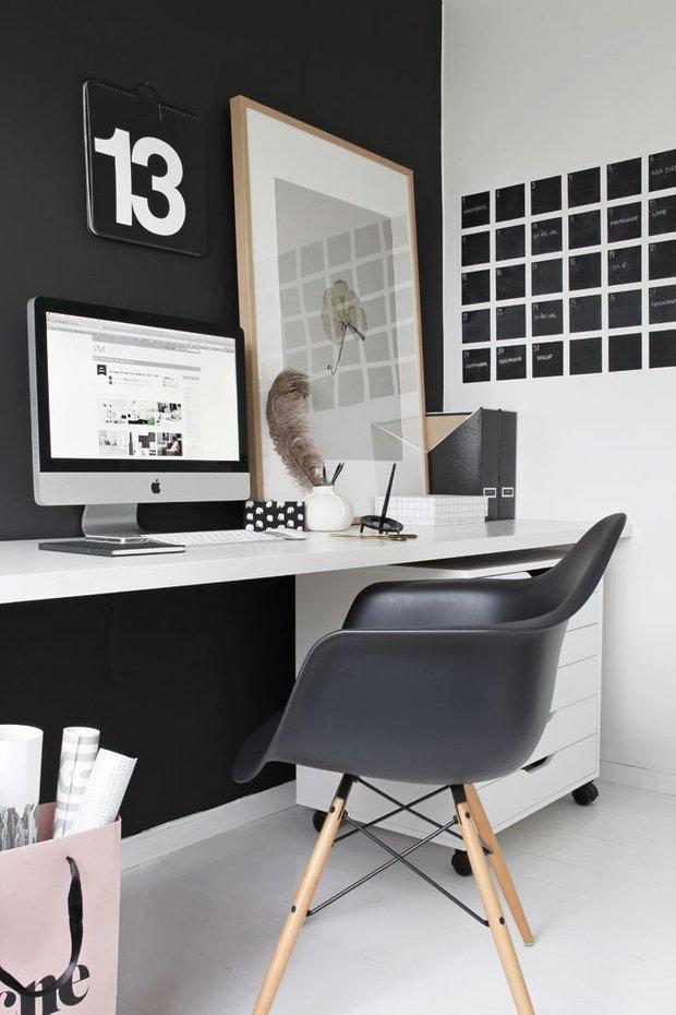 Фотография: Офис в стиле Скандинавский, Декор интерьера, Мебель и свет – фото на INMYROOM