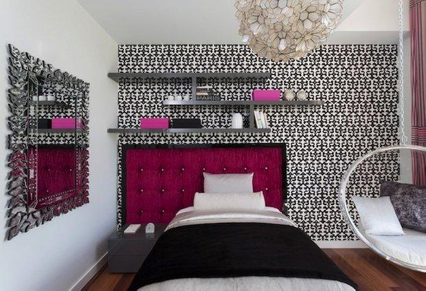 Фотография: Спальня в стиле Эклектика, Детская, Интерьер комнат, Декор – фото на INMYROOM