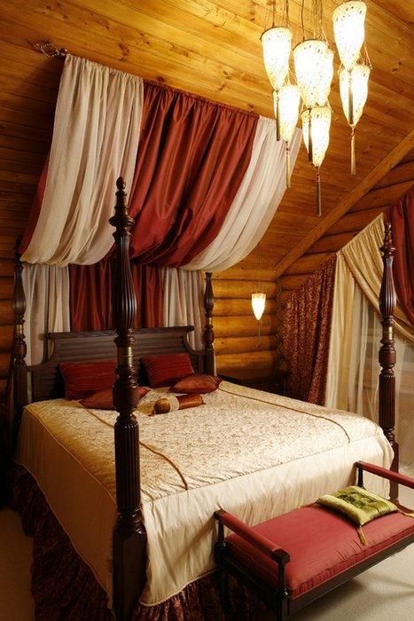 Фотография: Спальня в стиле Классический, Современный, Восточный, Индустрия, Люди, Международная Школа Дизайна – фото на INMYROOM