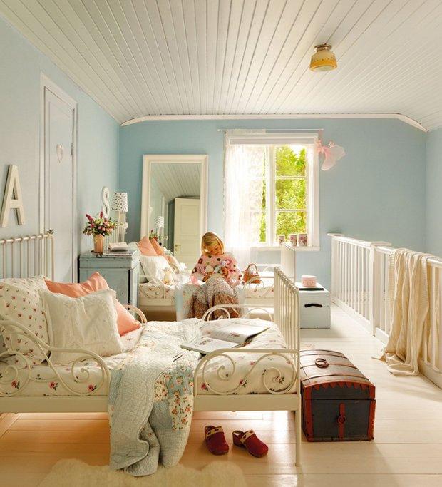 Фотография: Детская в стиле Прованс и Кантри, Дом, Дома и квартиры, IKEA, Проект недели, Дача – фото на InMyRoom.ru