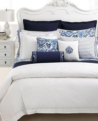 Фотография: Спальня в стиле Прованс и Кантри, Декор интерьера, Декор, Белый, Зеленый, Бежевый, Синий, Голубой, Оранжевый, Бирюзовый – фото на INMYROOM