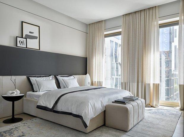 Фотография: Спальня в стиле Современный, Гид, ДелоБанк, банк для ип, банк для предпринимателей, квартиры дизайнеров – фото на INMYROOM