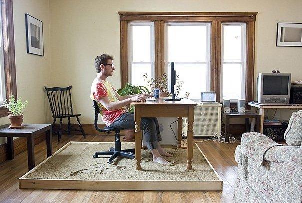 Фотография: Офис в стиле Современный, Малогабаритная квартира, Квартира, Индустрия, События – фото на INMYROOM